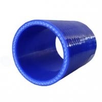 Патрубок помпы (с корпусом термостата D=25 мм.) силикон (хомут 2